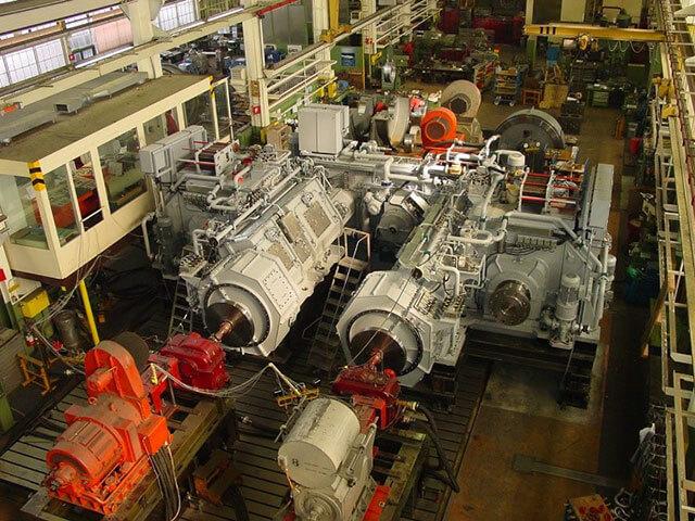 CODAG gear drive system